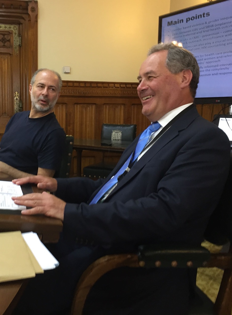 Joint chairs Bob Blackman and Fabian Hamilton at the formal APPG meeting on 12th July, 2017